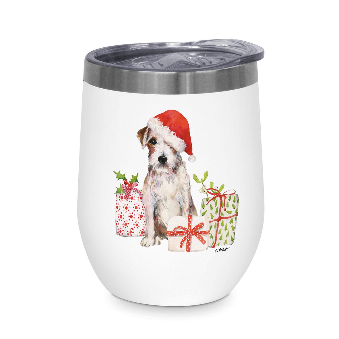 Christmas Pup Thermo Mug 0,35