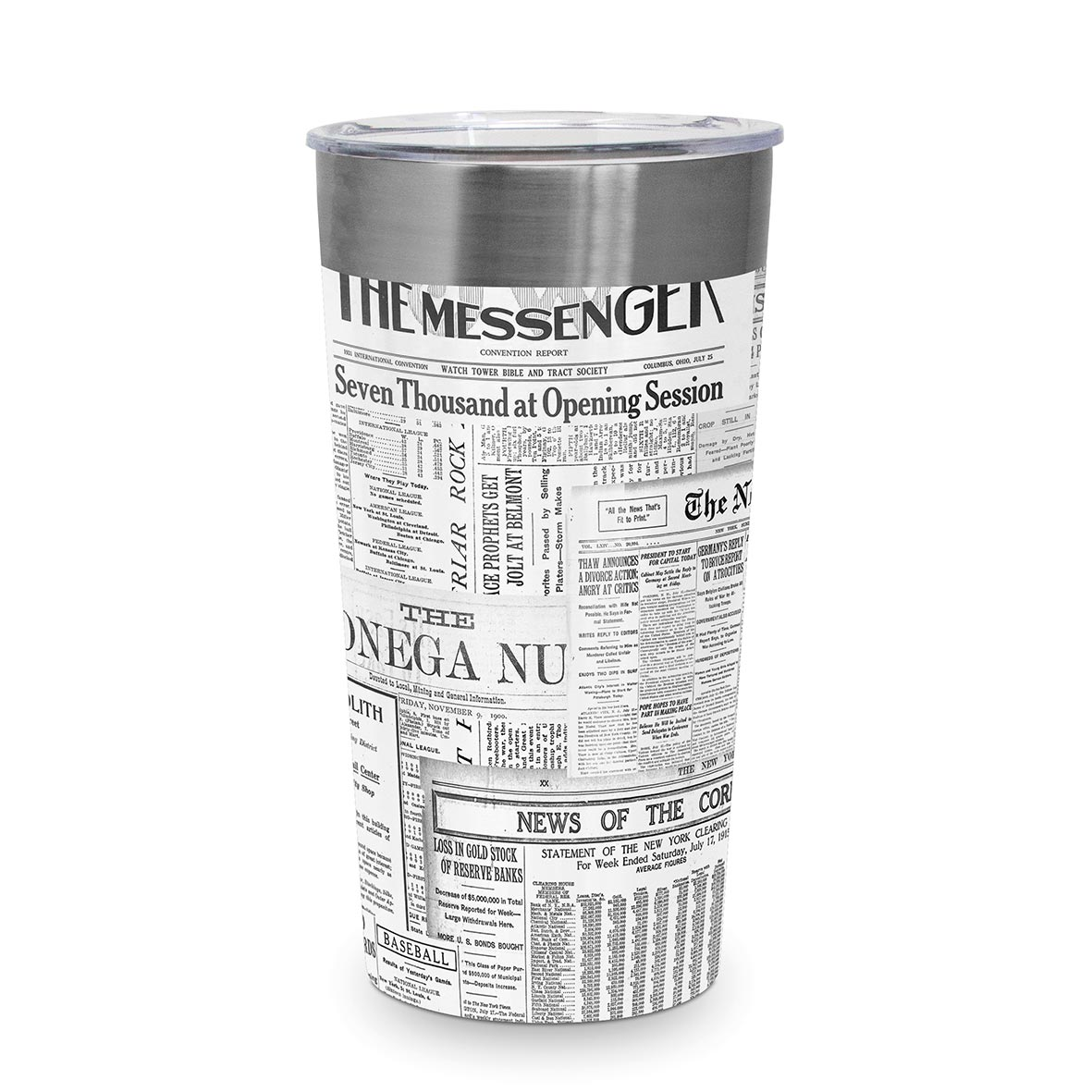 The Messenger Steel Travel Mug