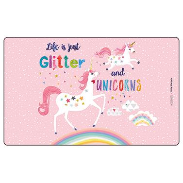 Tray Glitter & Unicorns