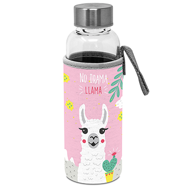 Glass Bottle with protection sleeve No Drama