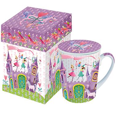 Mug with Lid GB Princess Castle
