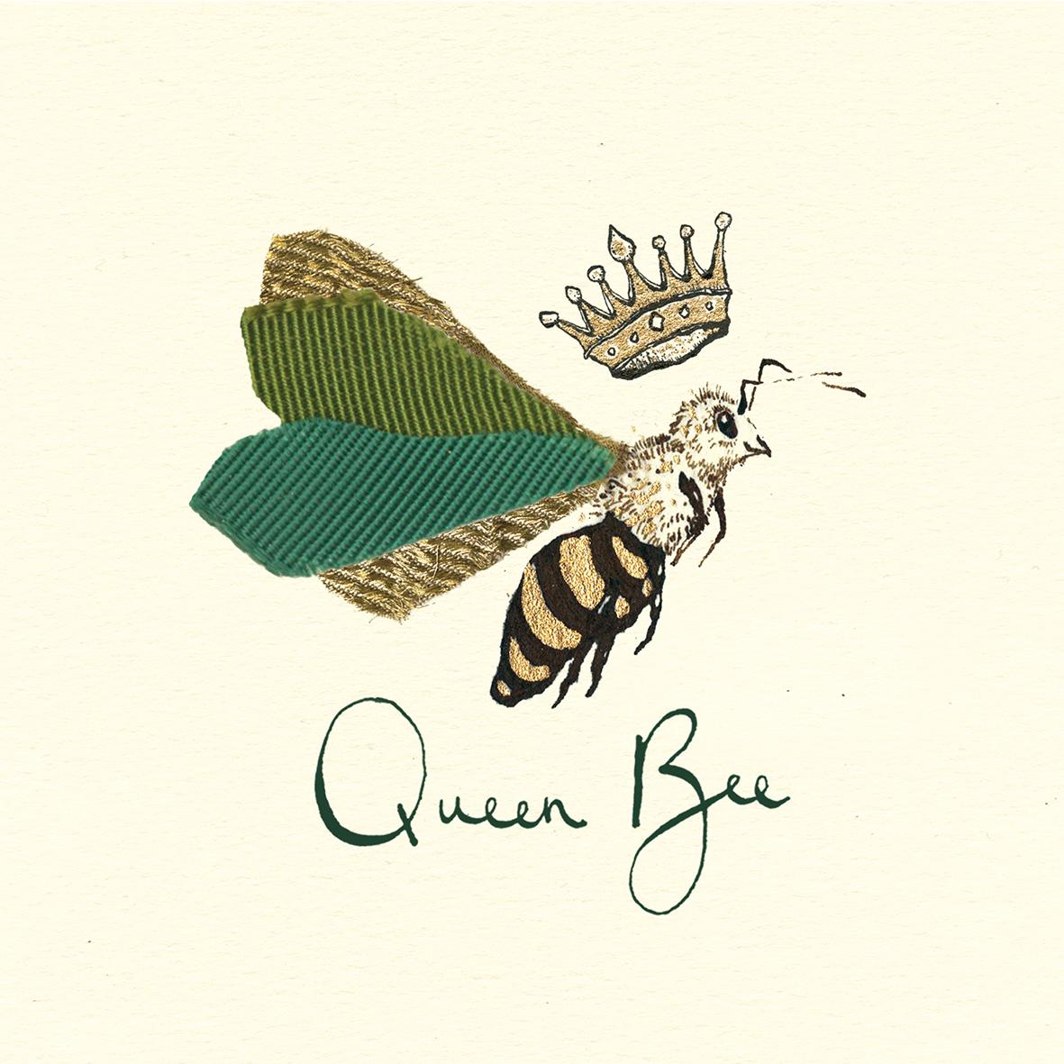 Queen Bee 33x33 cm