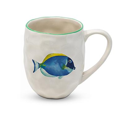 Organic Mug Tropical Fish