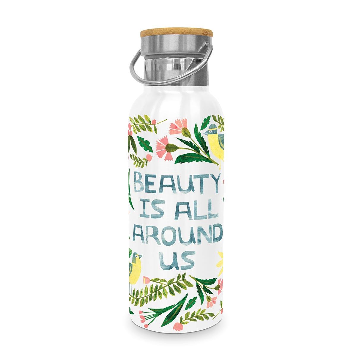 Beauty is around Steel Bottle 0,50