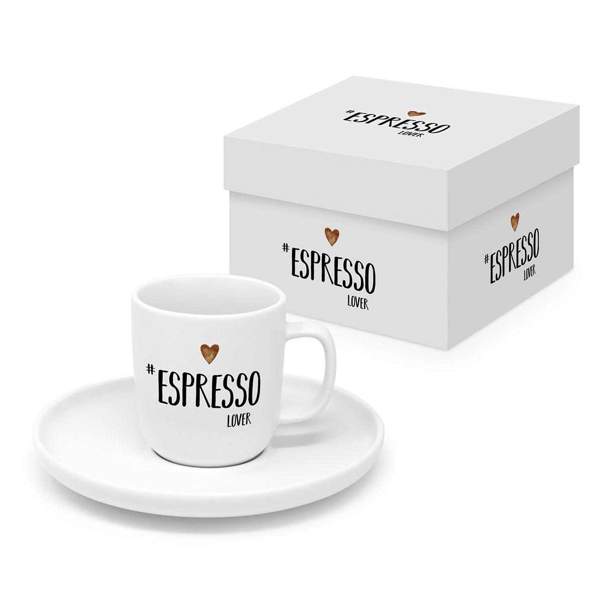 Espresso Lover white Matte Espresso