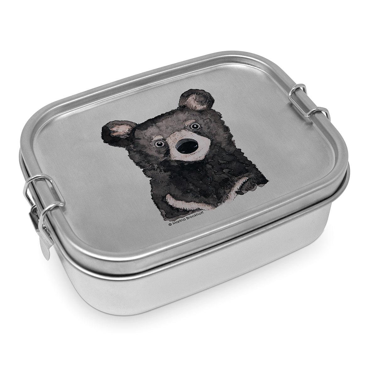 Bear Steel Lunch Box