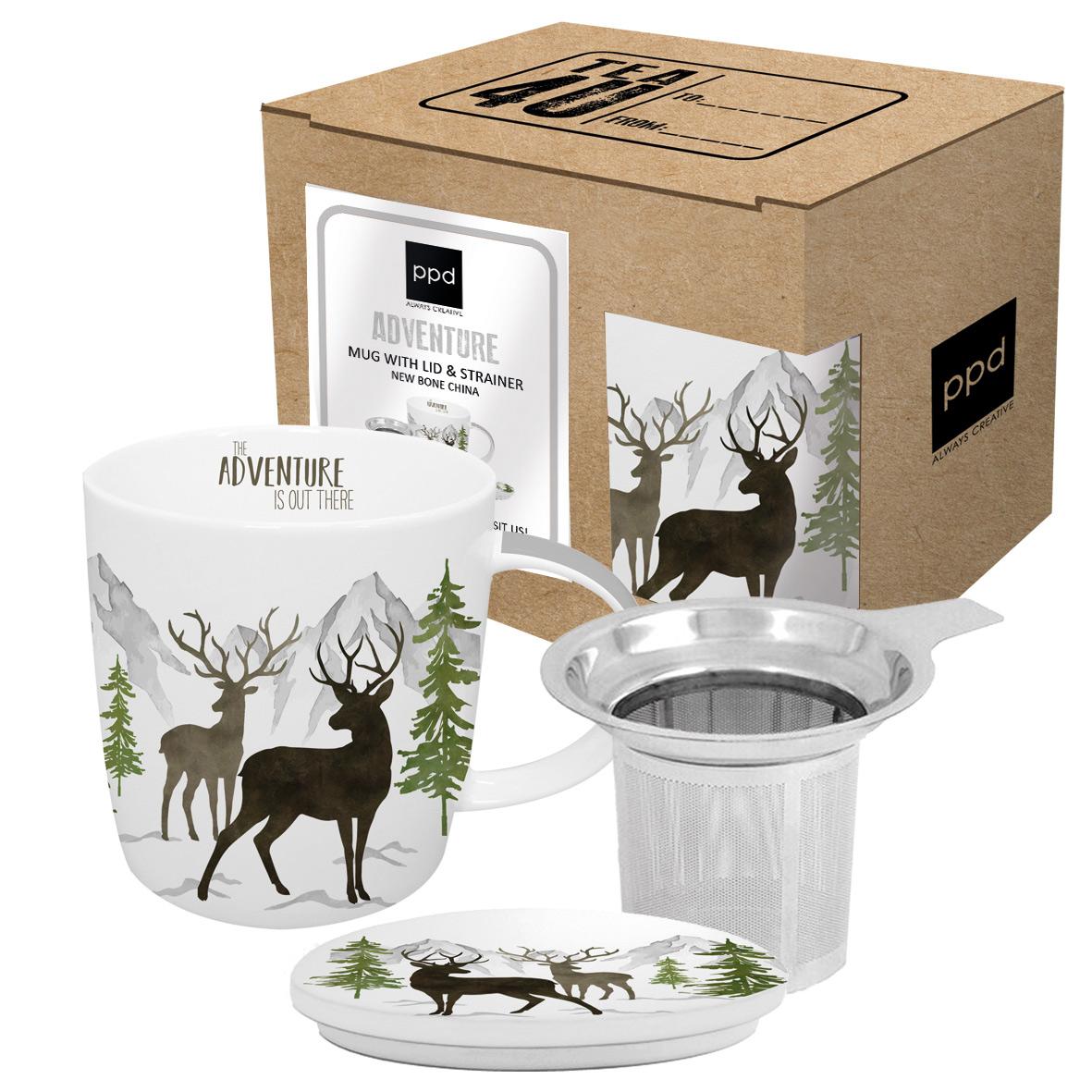 Adventure Deer white T-Mug CB