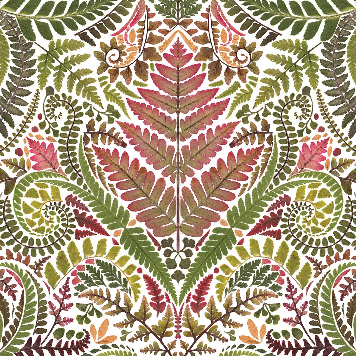 Green Leaves Napkin 33x33